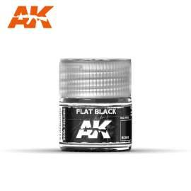 AK Real Color - Flat Black (matt fekete)