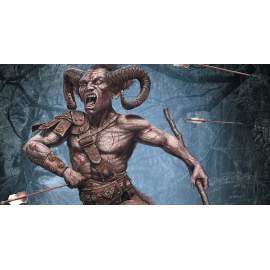 Masterbox 1:24 Ancient Greek Myths Series. Satyr figura makett