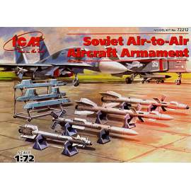 ICM 1:72 Soviet Air-to-Air aircraft armament.. R-27 ET AA-10 Alamo D, ...
