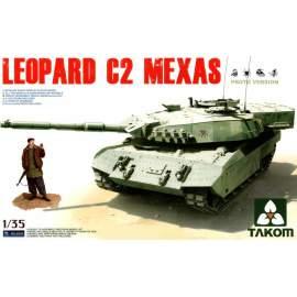 Takom 1:35 Canadian MBT Leopard C2 MEXAS harcjármű makett