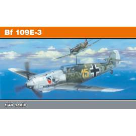 Eduard Profipack 1:48 Bf 109E-3 Re-Edition