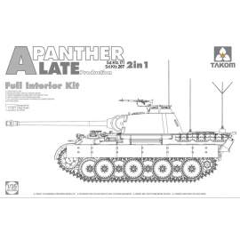 Takom 1:35 Sd.Kfz.171/267 Panther A Late with interior 2 in 1
