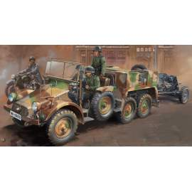 Bronco 1:35 Krupp Protze Kfz.69 L 2 H 143 with 3.7cm Pak 36 (Early version)