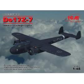 ICM 1:48 Do 17Z-7, WWII German Night Fighter repülő makett