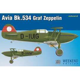 Eduard Weekend 1:72 Avia Bk-534 Graf Zeppelin repülő makett