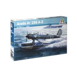 Italeri 1:48 Arado Ar-196A SUPER DECALS SHEET repülő makett