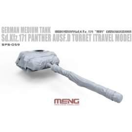 Meng Model 1:35 German Medium Tank Sd.Kfz.171 Panther Ausf.D Turret