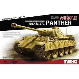 Meng Model 1:35 German Medium Tank Sd.Kfz.171 Panther Ausf.D