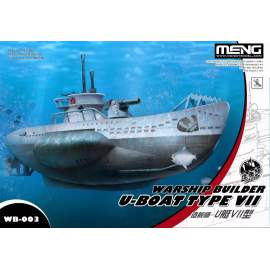 Meng Model - Warship Builder - U-Boat Type VII (Cartoon Model)