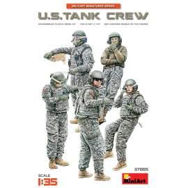 Miniart 1:35 U.S. Tank Crew figura makett