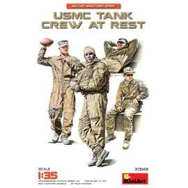 Miniart 1:35 USMC Tank Crew at Rest figura makett