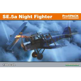 Eduard Profipack 1:48 Royal Aircraft Factory SE.5a Night Fighter