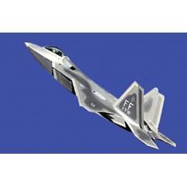 Trumpeter 1:144 F-22A Raptor repülő makett