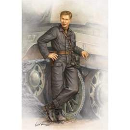 Trumpeter 1:16 WWII Soviet Army Tank Crewman In 1942