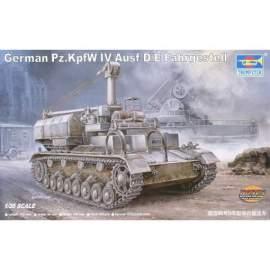Trumpeter 1:35 German Pz.Kpfw IV Ausf D/E Fahrgestell harcjármű makett