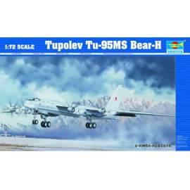 Trumpeter 1:72 Tupolev Tu-95MS Bear-H repülő makett