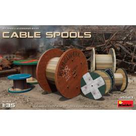 Miniart 1:35 Cable Spools