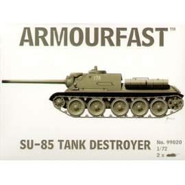 Armourfast 1:72 Soviet SU-85 harcjármű makett