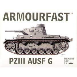 Armourfast 1:72 Pz.Kpfw.III Medium Tank harcjármű makett