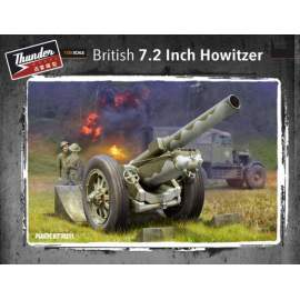 Thunder Model 1:35 British 7.2inch Howitzer