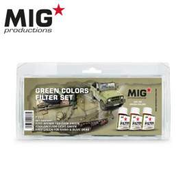 Mig Productions Green Colors Filter Set