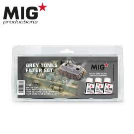 Mig Productions Grey Tones Filter Set
