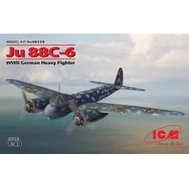 ICM 1:48 Junkers Ju-88С-6 WWII German Heavy Fighter repülő makett