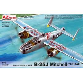 AZ Model 1:72 B-25J Mitchell USAAF repülő makett