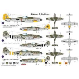 AZ Model 1:72 FW 190D-9 Early repülő makett
