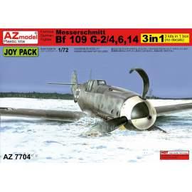 AZ Model 1:72 Bf 109G-2/4,G-6,G-14 Joy Pack