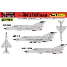 "KP Model 1:72 MiG-21MF/MA/R ""JOY PACK"""