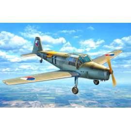 KP Model 1:48 Zlin C-106 repülő makett