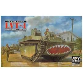 AFV-Club 1:35 Amphibious LVT IV harcjármű makett