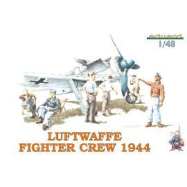 Eduard 1:48 Luftwaffe Fighter Crew 1944