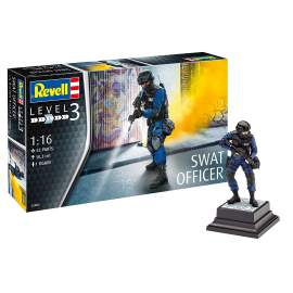 Revell 1:16 S.W.A.T. Team Leader (ex ICM)