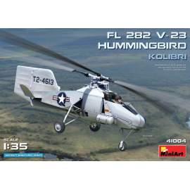 Miniart 1:35 FL 282 V-23 Hummingbird (Kolibri) helikopter makett