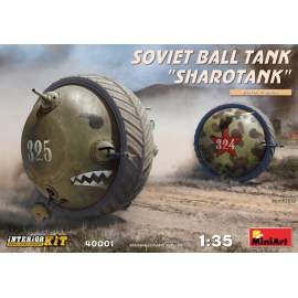 "Miniart 1:35 Soviet Ball Tank ""Sharotank"" Interior Kit harcjármű makett"