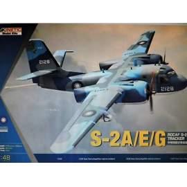 Kinetic 1:48 ROCAF S-2A/E/G Tracker repülő makett
