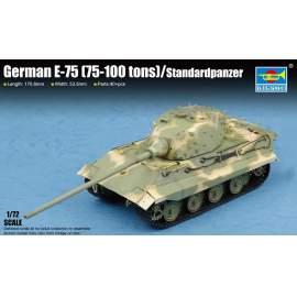 Trumpeter 1:72 German E-75 (75-100 tons)/Standardpanzer harcjármű makett
