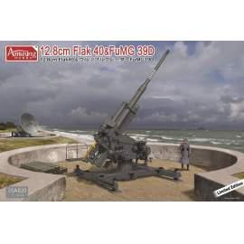 Amusing Hobby 1:35 12,8cm Flak40 with FuMG 39D