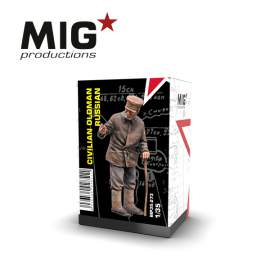MIG Productions 1:35 Civilian old man (russian)