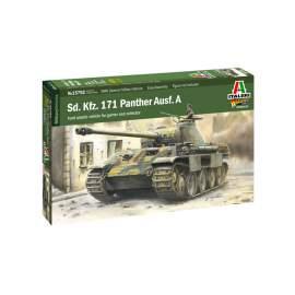 Italeri 1:56 Sd.Kfz. 171 Panther Ausf. A harcjármű makett