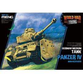 Meng Model German Medium Tank Panzer IV (Cartoon Model)