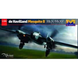 HK Model 1:32 de Havilland Mosquito B Mk. IX / XVI repülő makett