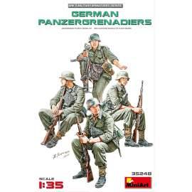 Miniart 1:35 German Panzergrenadiers figura makett