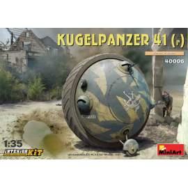 Miniart 1:35 Kugelpanzer 41( r ). Interior Kit harcjármű makett