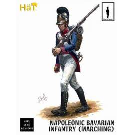 HAT 1:32 Bavarian Infantry Marching. 18 figures per box