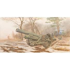 Roden 1:35 BL 8-inch Howitzer Mk.VI