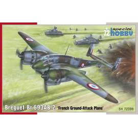 Special Hobby 1:72 Breguet Br.693AB.2 French Ground-Attack aircraft