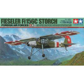Tamiya 1:48 Fi156C (Foreign AF) repülő makett